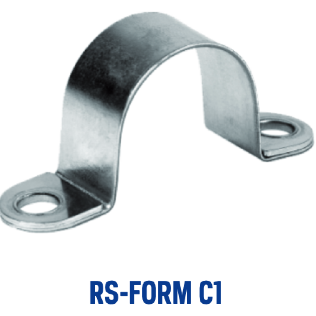 Halterungsschelle RS C1 ohne Gummi